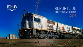 FCAB Socializa su Reporte de Sustentabilidad 2019