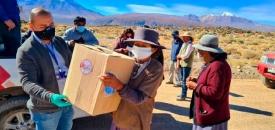 Municipio de Calama Entregó Ayuda a Las Familias de Poblados Del Alto Loa