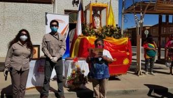 Sierra Gorda SCM Entrega Libro Patrimonial Sobre Celebración de San Lorenzo