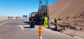 MOP Instruye a Autopistas de Antofagasta Agilizar Estudios Por Hundimiento de Calzada en Ruta 5