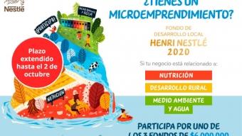 Nestlé Extiende Plazo de Postulación a Fondo de Financiamiento Para Microemprendedores en Antofagasta