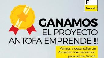 Fracción Recibe Premio AntofaEmprende 2020 Para Instalar Almacén Farmacéutico en la Comuna de Sierra Gorda