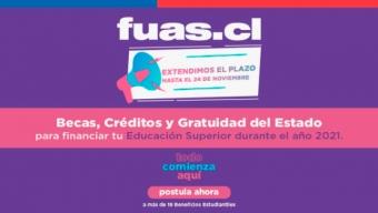 FUAS 2021: Mineduc Extiende Plazo de Postulación Para Acceder a Beneficios Estudiantiles Para la Educación Superior