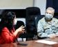 Alcaldesa (S) de Antofagasta se Reúne Con General de Zona Para Conocer Plan de Reordenamiento Del Centro