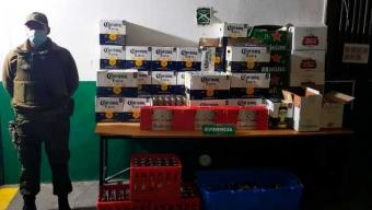 90 Detenidos en Nueva Fiesta Clandestina en Calama