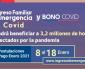 Hasta el Lunes 18 Hay Plazo Para Postular al Bono Covid