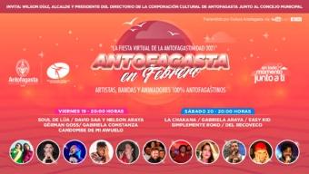 Hoy Continúa la Fiesta Virtual de la Antofagastinidad Con Diversos Artistas Locales