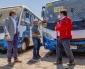 Conductores Del Transporte Público se Realizan PCR y Reciben Educación Preventiva Para Evitar Contagios