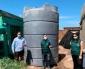 Aguas Antofagasta Aporta Estanque de 10 Mil Litros Para Vivero Regional de Conaf