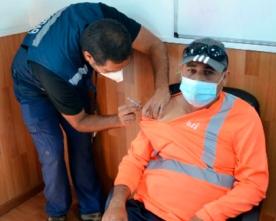 Inició Proceso de Vacunación Para Trabajadores y Trabajadoras de Puerto Antofagasta