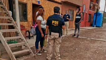 Operativo de la PDI Terminó Con 32 Detenidos en Toda la Región