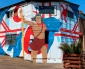 Pinturas Participativas Llegan a Hermosear Población Lautaro