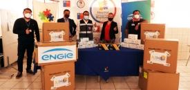 AIM y ENGIE Donan Elementos de Protección Para Primera Línea Del Hospital Comunitario de Mejillones