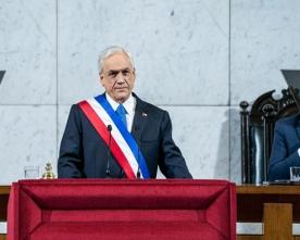 Presidente Piñera Realiza Cuenta Pública a la Nación