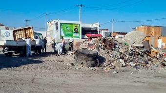 Municipalidad de Mejillones Activa Campaña de Eliminación de Microbasurales