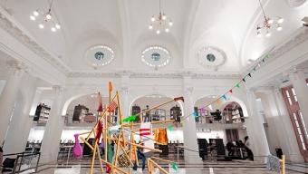 """Volúmenes, Colores e Imágenes se Tomarán Los Espacios Públicos de la Región de Antofagasta Con la Bienal SACO1.0 """"Aluvión"""""""