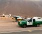 Avioneta Aterriza de Emergencia en Ruta 1 Por Falta de Combustible