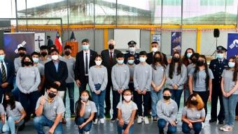 El Colegio Providencia de Antofagasta Fue Elegido Para Dar Inicio en la Región a Inédito Programa Escolar Satelital Impulsado Por Defensa, MinCiencia y la FACh