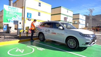 Implementando Electromovilidad, Sierra Gorda SCM Continúa su Camino a la Sustentabilidad