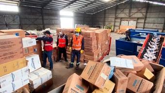 Aduana de Antofagasta Destruye Más de 10 Millones de Cajetillas de Cigarrillos de Contrabando