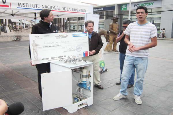 Joven antofagastino gan concurso nacional de innovaci n for Cocina con hidrogeno