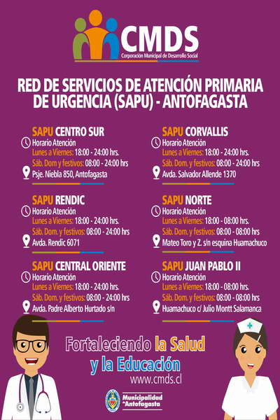 horarios SAPU