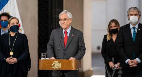 Presidente Pi U00f1era Presenta Nuevas Medidas De Apoyo Para La